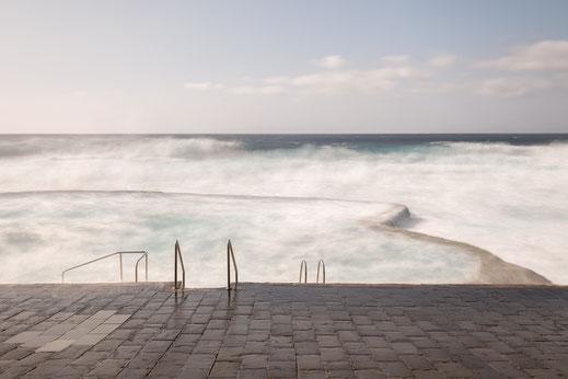 La Maceta, Langzeitbelichtung, longexposure, fine art, dekorativ, wallart, El Hierro, Canary Islands, Kanarische Inseln, Kanaren, Holger Nimtz, pool, Minimalismus, minimalist, minimalism, Fotokunst,