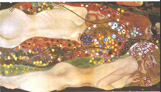 Klimt, Hydre, 1907.