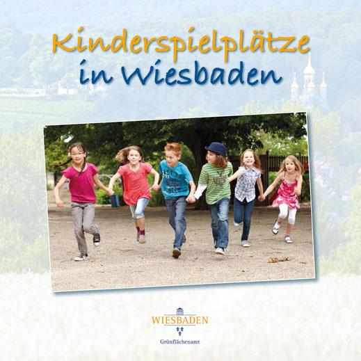 Die neue Kinderspielplatz-Broschüre der Stadt Wiesbaden (Stand: 2021)