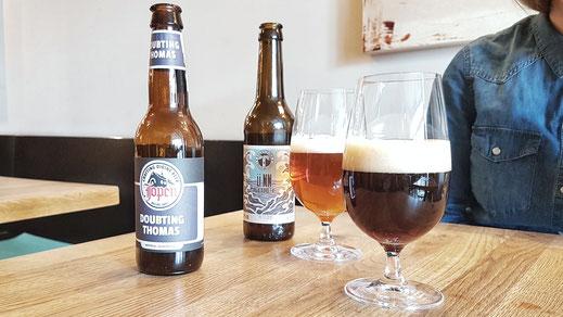 Ein großes Angebot an Craft Beer unterstreicht die individuelle Note des Ladens