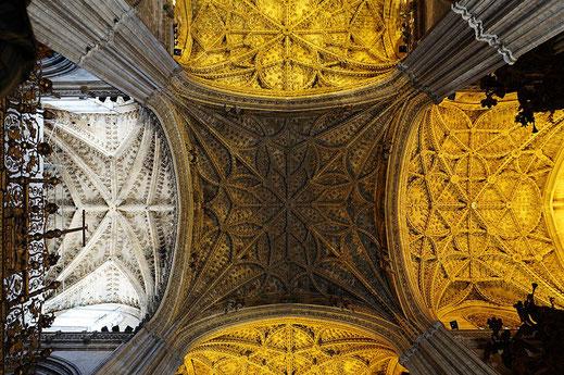 Les nefs de la cathédrale