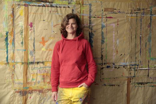 Stefanie Glatz, Ausdrucksmalen Atelier MALRAUM Altona