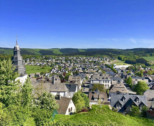 Bergstadt Eversberg im Sauerland
