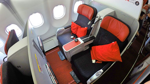 AirAsiaX Business Class