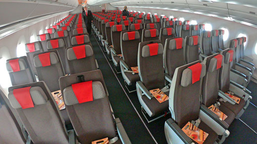 Iberia Airlines Airbus A350 Economy Class