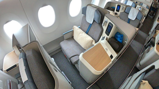 Air Mauritius A350 Business Class