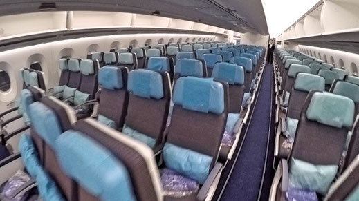 Philippine Airlines A350 Economy Class