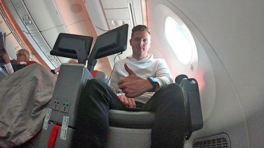 Norwegian Air 787 Premium Class