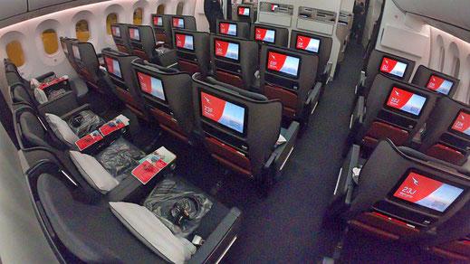 Qantas Premium Economy Class