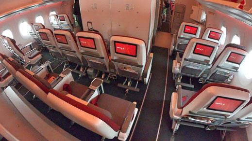 Iberia Airlines Airbus A350 Premium Economy Class