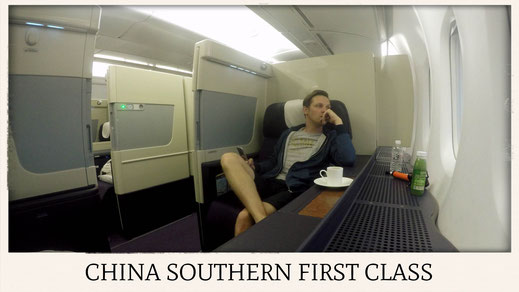 China Southern Airlines A380 first class