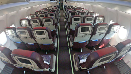 Malaysia Airlines 737 Economy Class