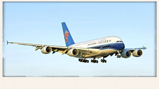China Southern Airlines A380