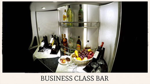 China Southern Airlines A380 bar