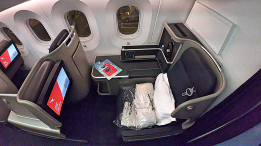 Qantas 787 Business Class Review