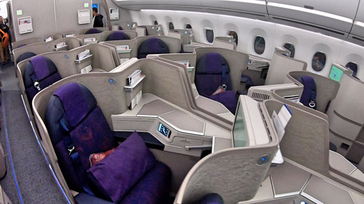 Air China A350 Business Class