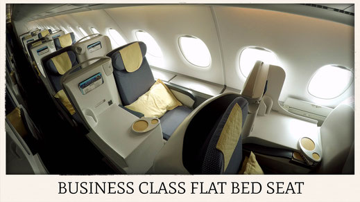 China Southern Airlines A380 business class seat