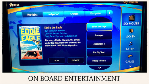 China Southern Airlines A380 on board entertainment