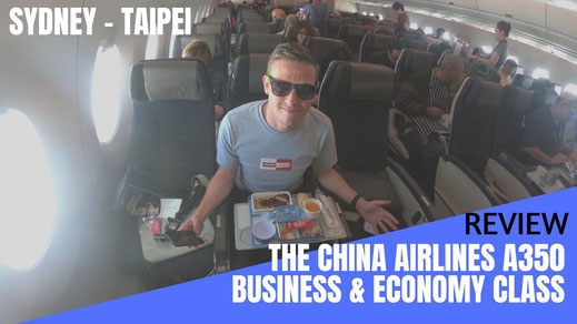 China Airlines A350 Review