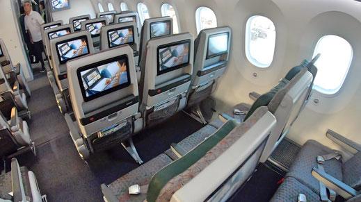 EVA Air 787 Economy Class