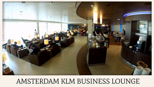 amsterdam klm business lounge
