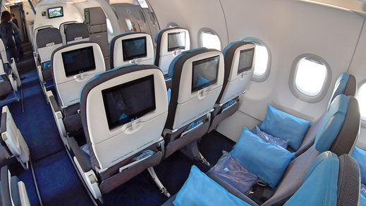 Philippine Airlines A321Neo Economy Class