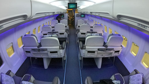 Air Astana 757 Business Class