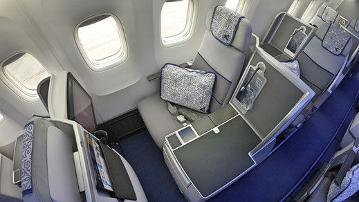 Air Astana 767 Business Class