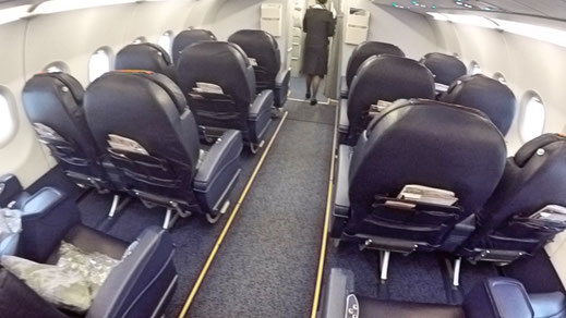 Aeroflot A320 Business Class