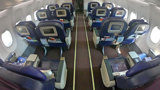 Malaysia Airlines 737 Business Class