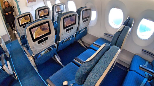Vietnam Airlines A350 Economy Class