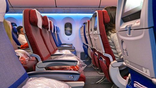 LATAM Airlines 787 Economy Class