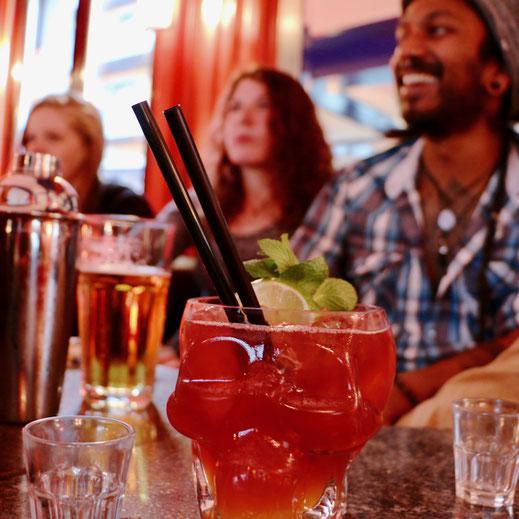 Zombie Drink im Barkurs der Barschule