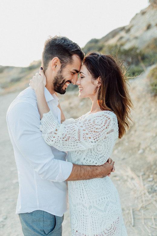 Hochzeitsfotos auf Rhodos