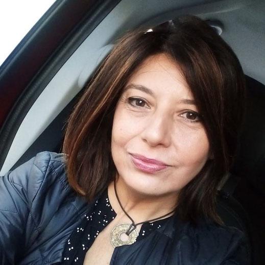 Angela D'Agostino autrice di Penelope per la raccolta A porte chiuse