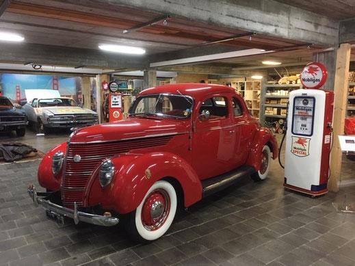Ford Coupe 1938 Oldtimer Garage Dieter Bauhofer, Teufenthal