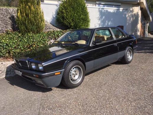 Maserati Biturbo, Oldtimer Garage D. Bauhofer, Teufenthal - Restauration und Werkstatt Service von Oldtimern