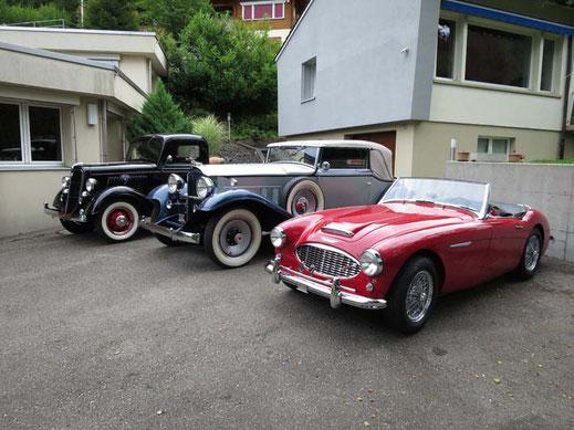 Oldtimer Garage D. Bauhofer, Teufenthal - Reparatur und Restauration von Oldtimern