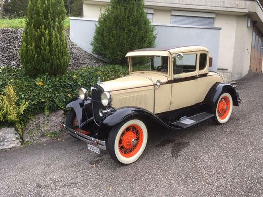 Ford A 1930, Oldtimer Garage D. Bauhofer, Teufenthal - Restauration und Werkstatt Service von Oldtimern