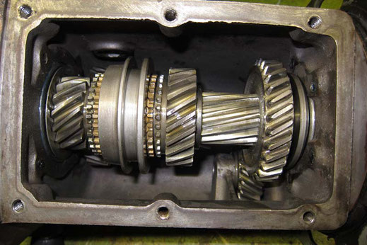 Getrieberevision, Oldtimer Garage D. Bauhofer, Teufenthal