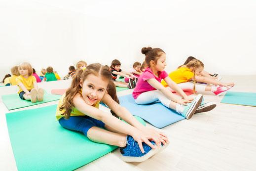 Yoga für Kinder Präventionskurs Nordkirchen bei Yamida -Yogaschule Lüdinghausen