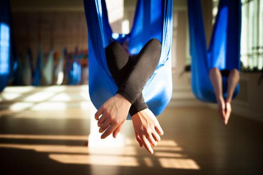 Aerial Yoga in Nordkirchen bei Yamida- Yoga und Meditation in Lüdinghausen