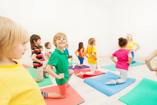 Yoga für Kinder Präventionskurs Selm bei Yamida - Yoga und Meditation in Lüdinghausen