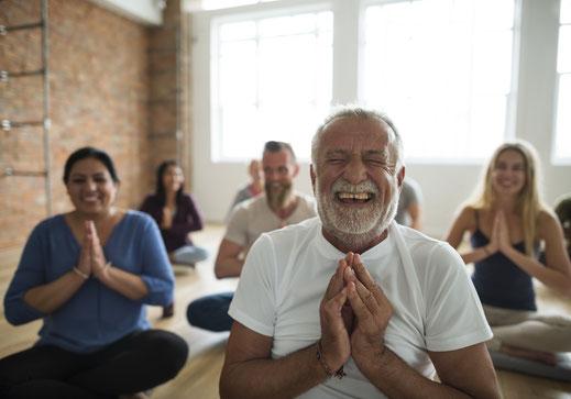 Glücklich mit Yoga Kursen und Stressmanagement Trainings in Lüdinghausen