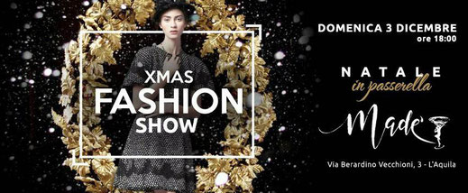 Xmas Fashion Show 3 Dicembre 2017