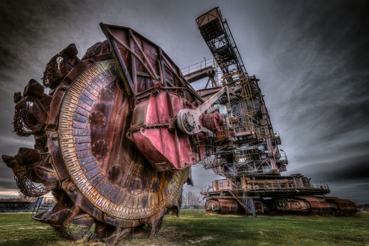 Schaufelradbagger auf Ferropolis bei Dessau von Tobias Gawrisch (Xplor Creativity)