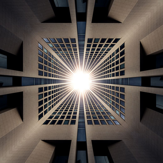 Kaleidoskop-Composing Opernturm Frankfurt am Main von Tobias Gawrisch (Xplor Creativity)