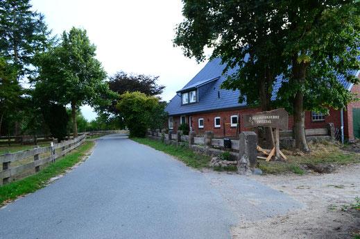 Islandpferdehof Fönixtal - Einfahrt