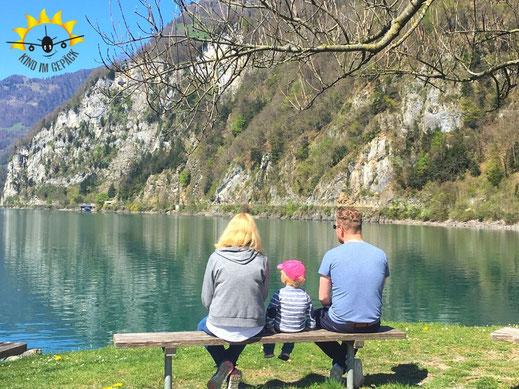 Tolles Ausflugsziel für Familien bei Zürich: der Walensee.