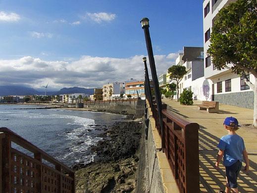 Mole Muelle von Arianga auf Gran Canaria.